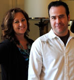 The owners of Bella Tucker Decorative Finishes Dana and Brooks.