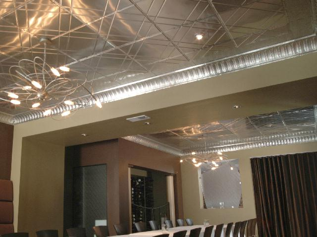 Contemporary Metal Ceiling Decorative Ceiling Tiles