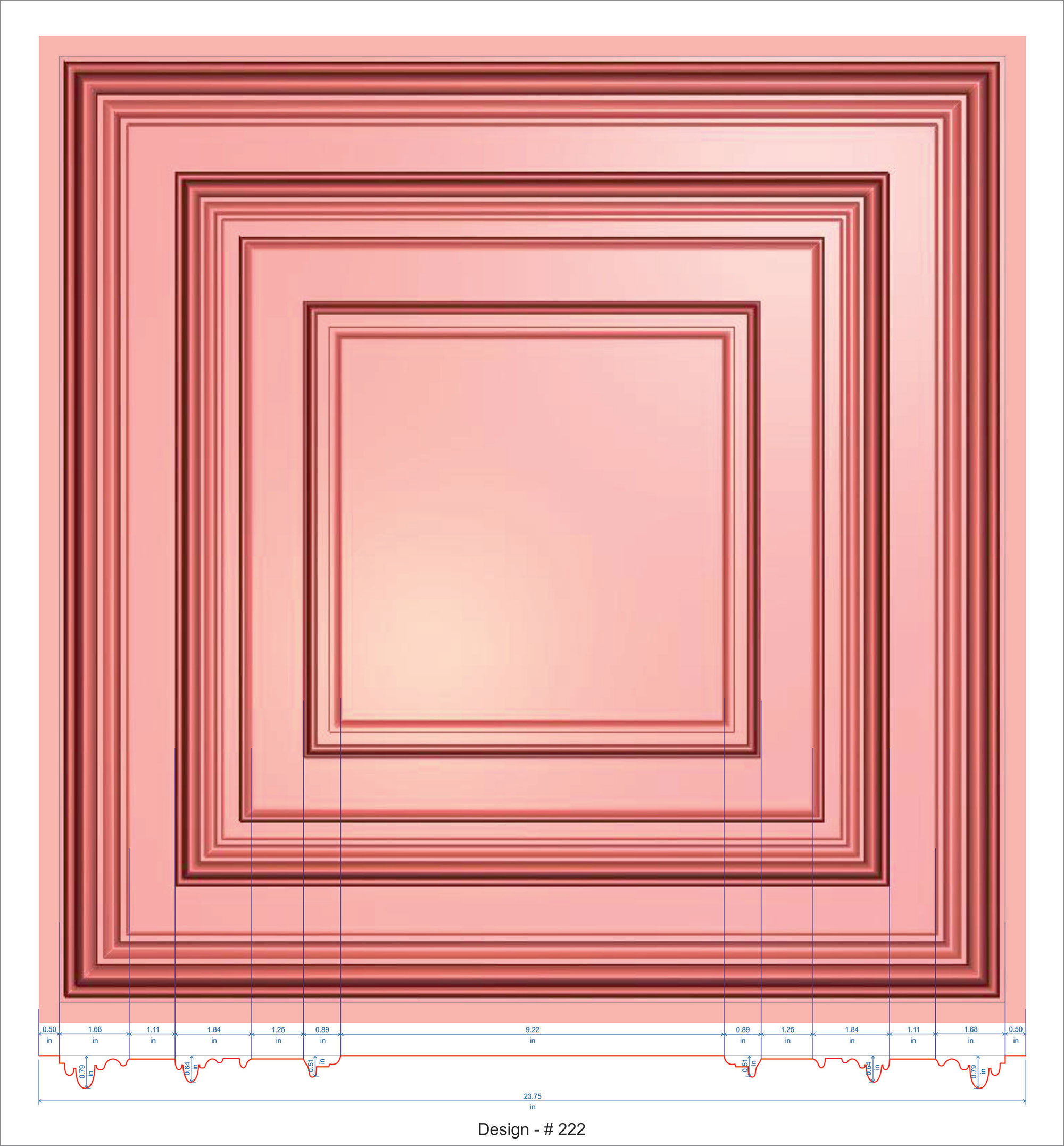 2 x 2 ceiling tiles