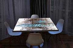 Lumisplash Laminates, Paris Map