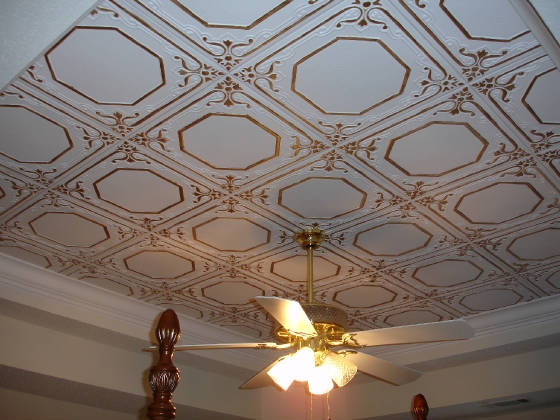 Styrofoam Ceiling Tiles Finished Projects Images