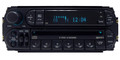 02-05 Chrysler Jeep Dodge Radio and 6  CD Changer (faceplate # RBQ)