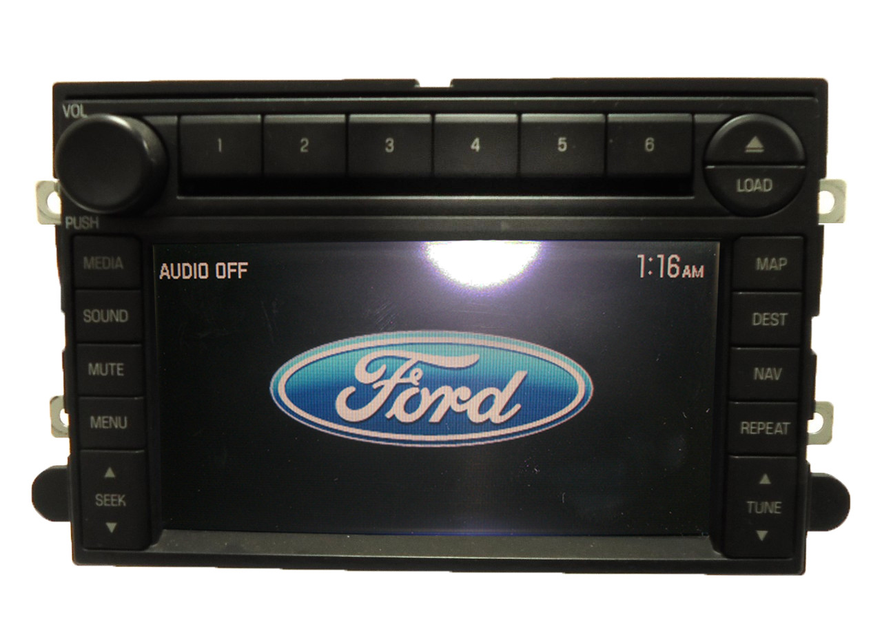 Ford Explorer Mercury Mountaineer Navigation Gps Radio Cd Lcd Display Screen Oem