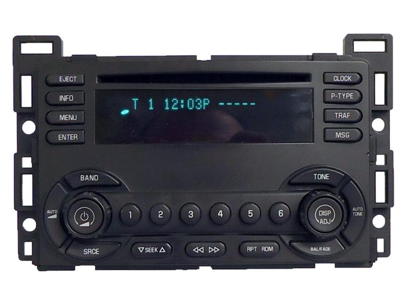 04 05 06 chevrolet chevy malibu radio cd player 2004 2005 2006