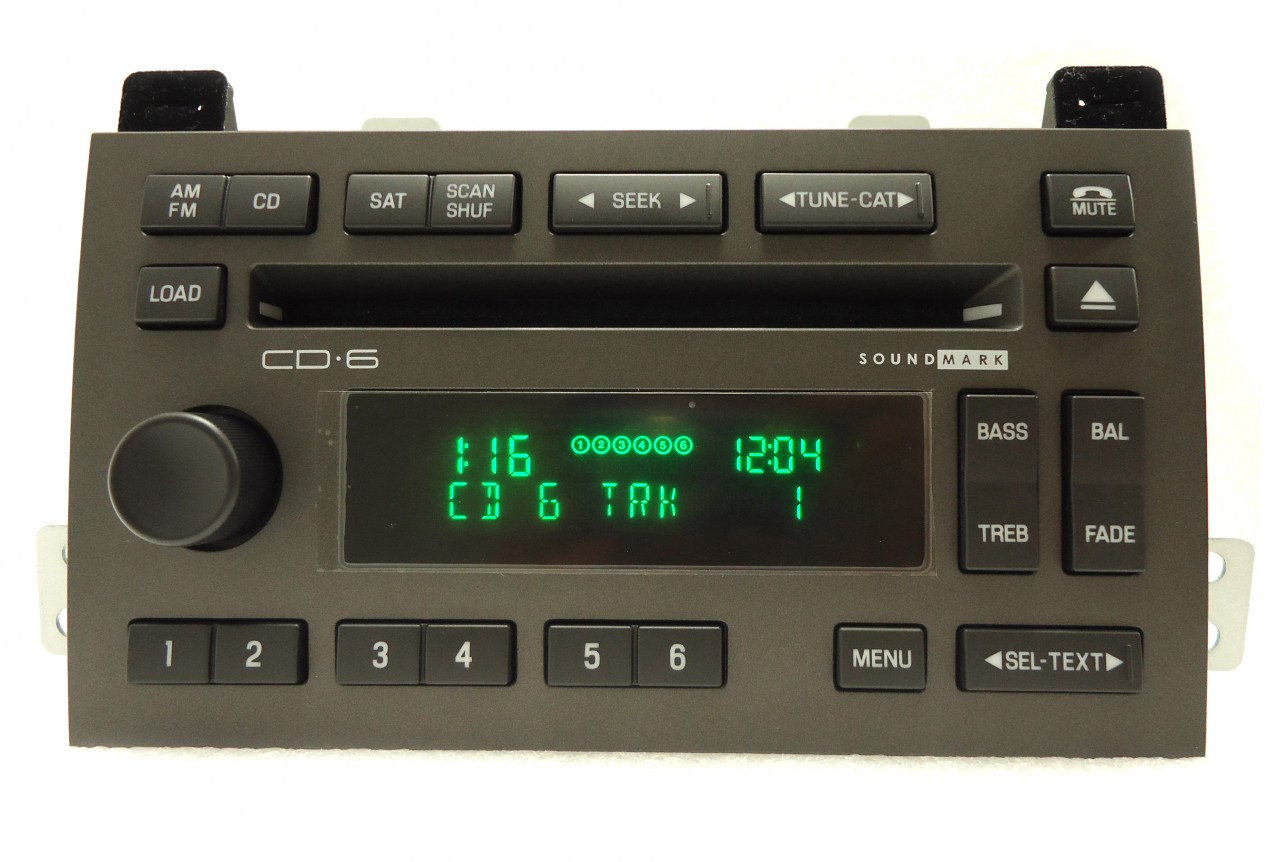 lincoln town car radio stereo 6 disc changer cd player. Black Bedroom Furniture Sets. Home Design Ideas