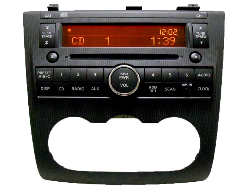 2007 08 nissan altima radio stereo player aux input cd player. Black Bedroom Furniture Sets. Home Design Ideas