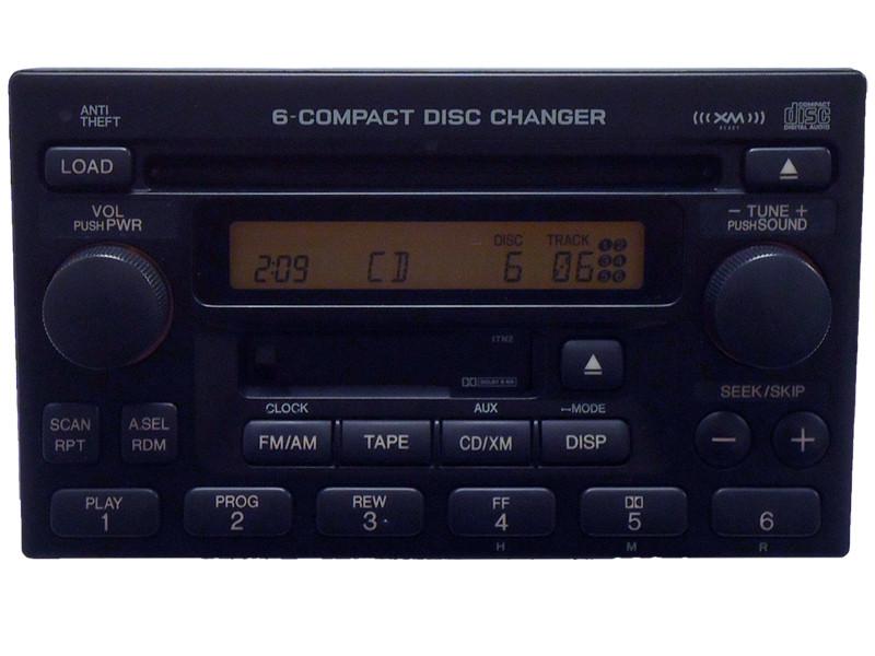 repair      honda accord civic cr  crv radio  cd disc changer player ebay