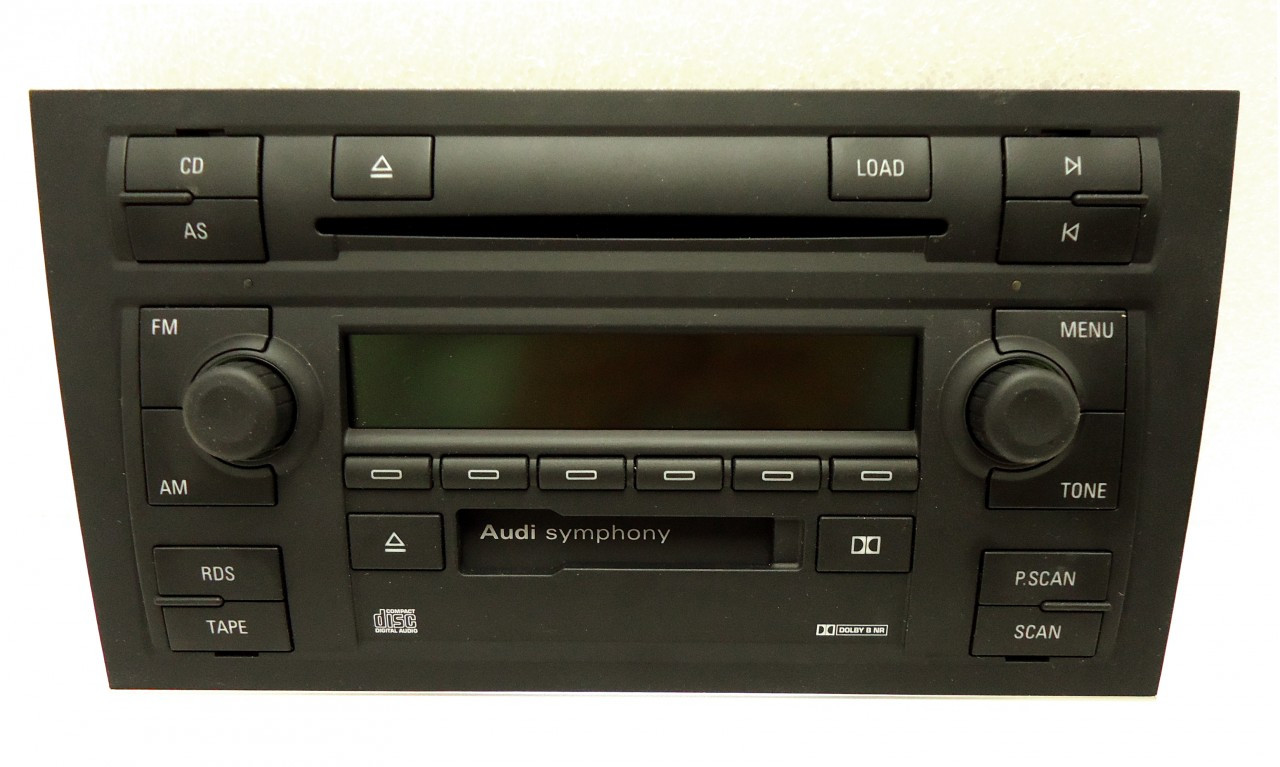 8e0035195a 02 03 04 Audi A4 S4 Radio 6 Cd Changer Faceplate