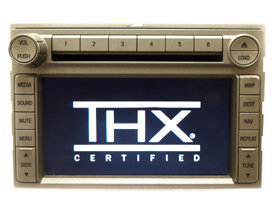 lincoln thx navigation radio stereo 6 disc changer mp3 cd. Black Bedroom Furniture Sets. Home Design Ideas