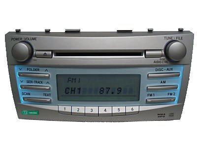 11815 2007 2011 toyota camry radio cd player. Black Bedroom Furniture Sets. Home Design Ideas