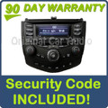 2004 - 2007 Honda Accord Radio and 6 CD  Changer 7BK1 39175-SDA-A120-M2