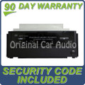 07 2007 Acura RDX AUX Input 6 Disc CD Changer Ac158 w/ CODE