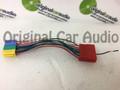 1997 - 2005 VW Volkswagen Audi 20 Pin Harness Adapter Extender Splitter for OEM CD Ipod Amp Intergation