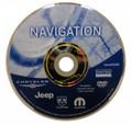 2008 Chrysler Jeep Dodge RB1 Navigation Disc 05064033AF
