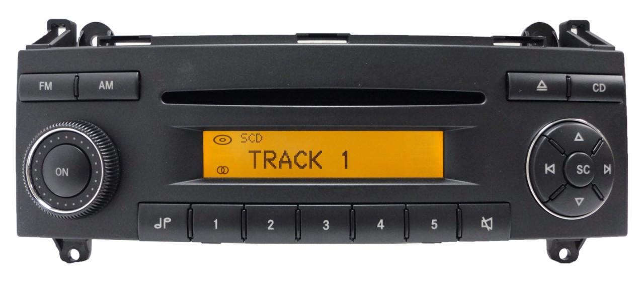 2011 mercedes sprinter radio replacement