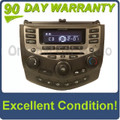 2003 - 2007 Honda Accord Radio AUX and 6  CD Changer LX EX 7BC1  39175-SDA-A120-M2