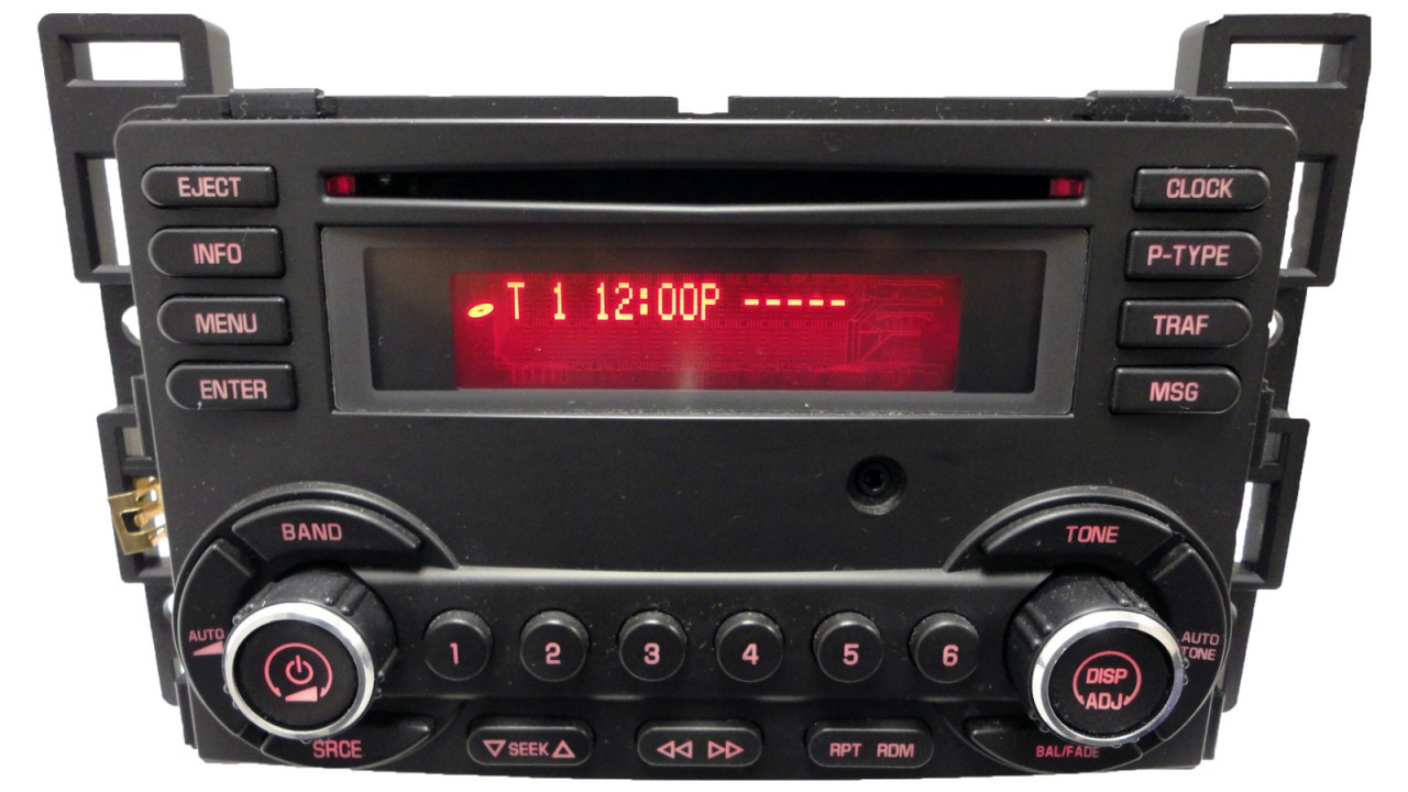 2008 08 2009 09 Pontiac G6 Radio Cd Player Factory Stereo