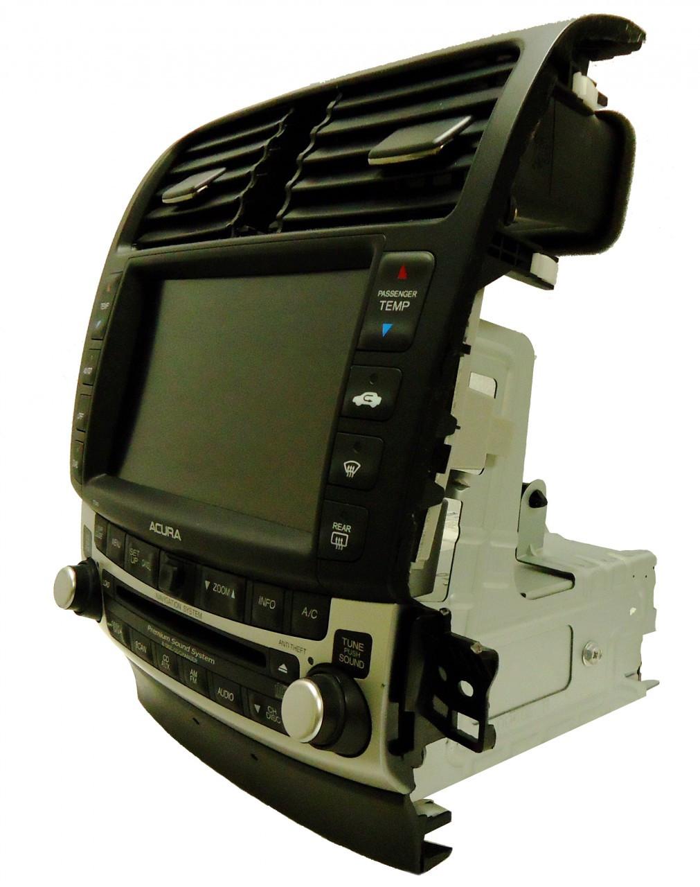 04 05 06 07 08 ACURA TSX Premium Navigation GPS Radio 6 CD ...
