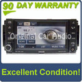 Chrysler Jeep Dodge Low-Speed MyGig Radio CD and DVD Player SAT AUX 2007 2008 2009 2010