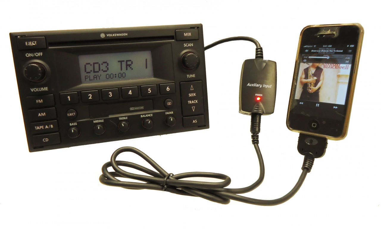 vw volkswagen jetta passat ipod iphone mp adapter harness  radio cd player ebay