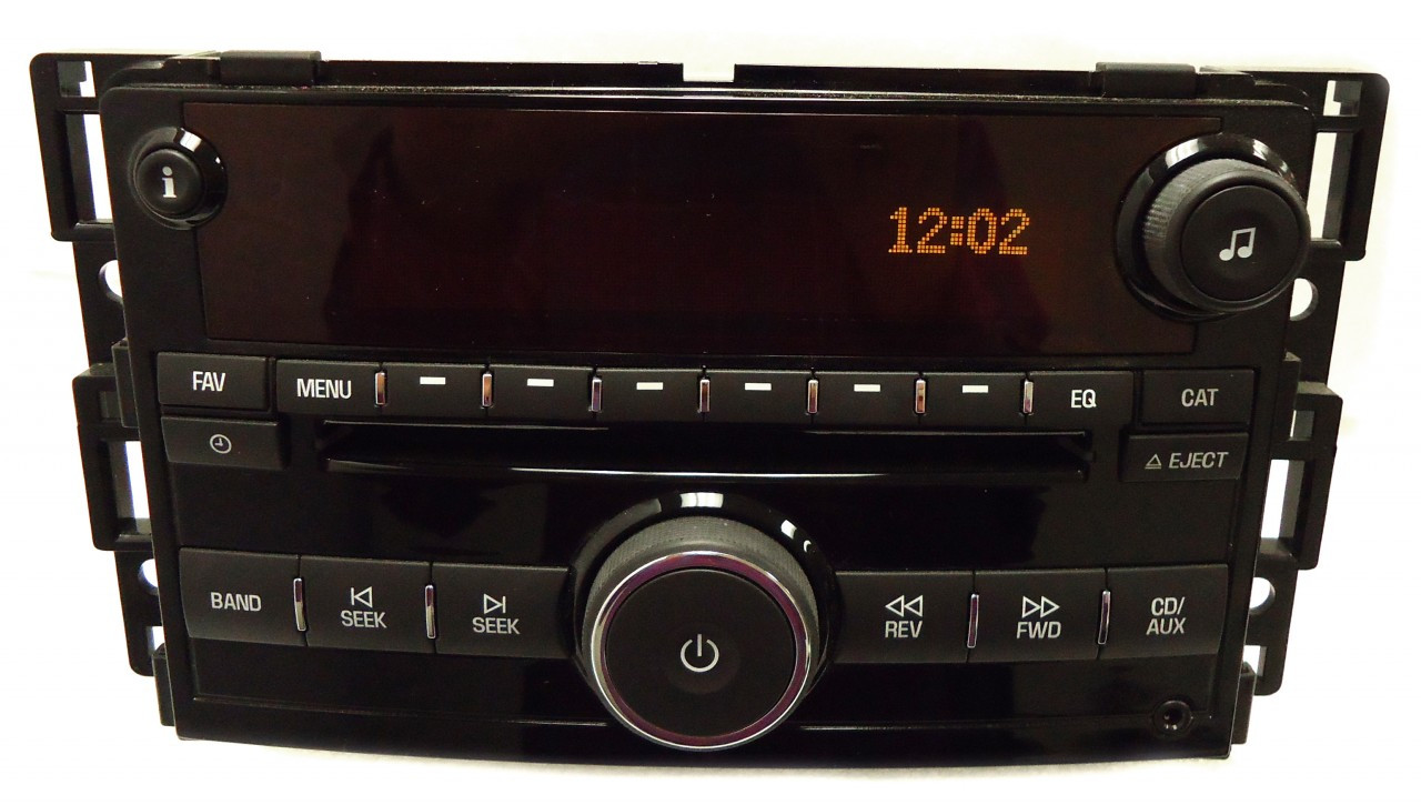 saturn sky am fm radio stereo cd player aux factory oem. Black Bedroom Furniture Sets. Home Design Ideas