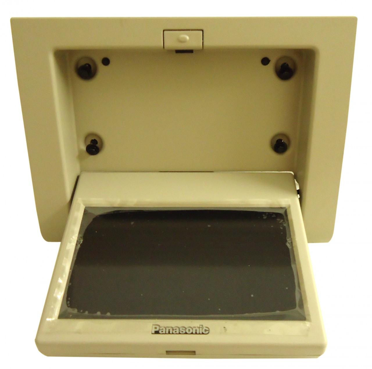 gmc chevy cadillac rear panasonic overhead lcd display screen dvd player monitor ebay