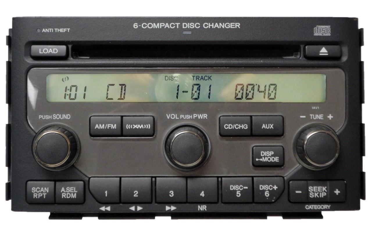 NEW 06 07 08 HONDA Pilot Navigation GPS System XM Radio 6 Disc Changer CD Player