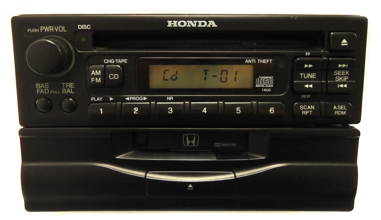 honda civic accord cr v crv prelude odyssey radio tape. Black Bedroom Furniture Sets. Home Design Ideas