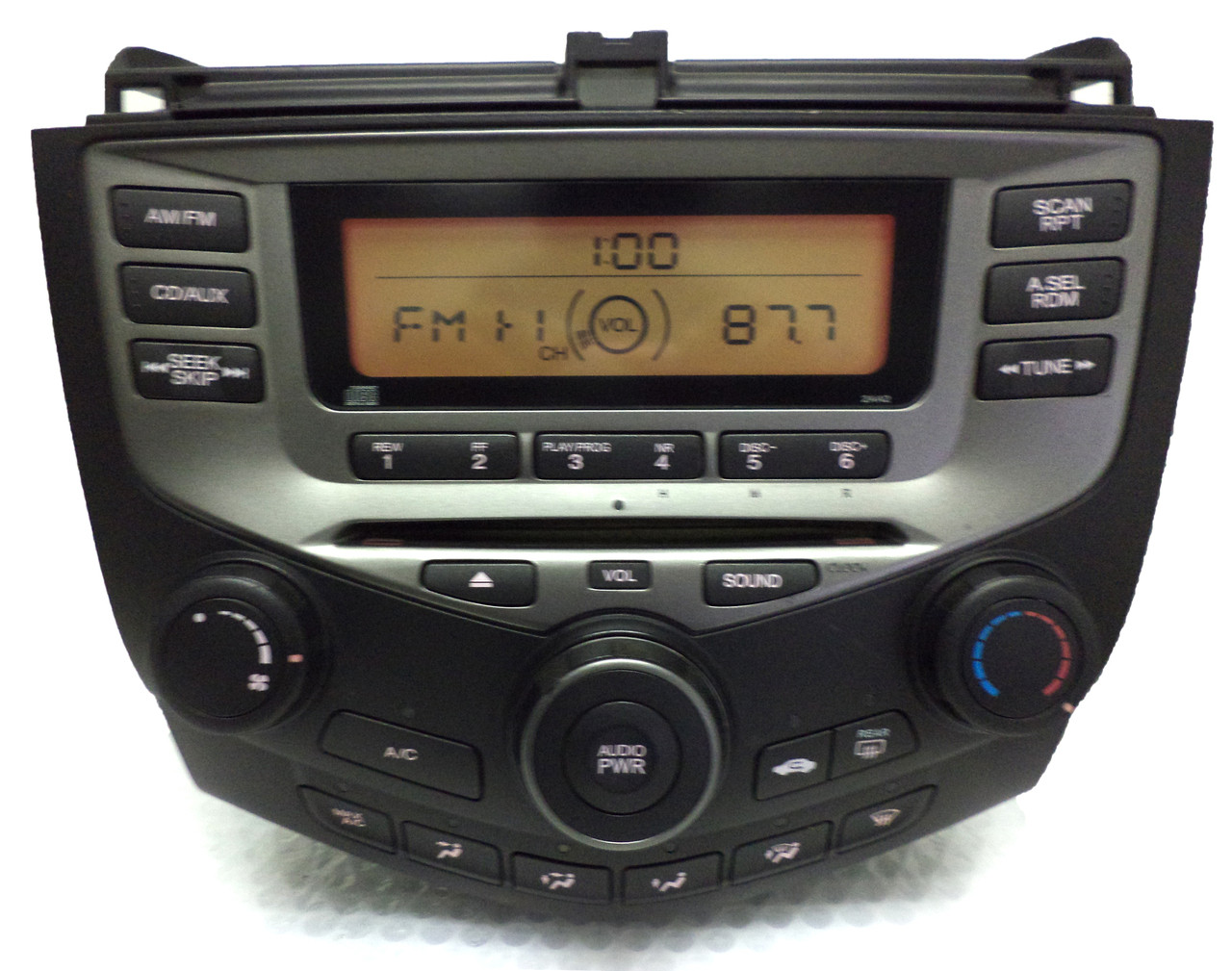 03 04 05 06 07 Honda Accord Radio Stereo Cd Player Lx 2aa2