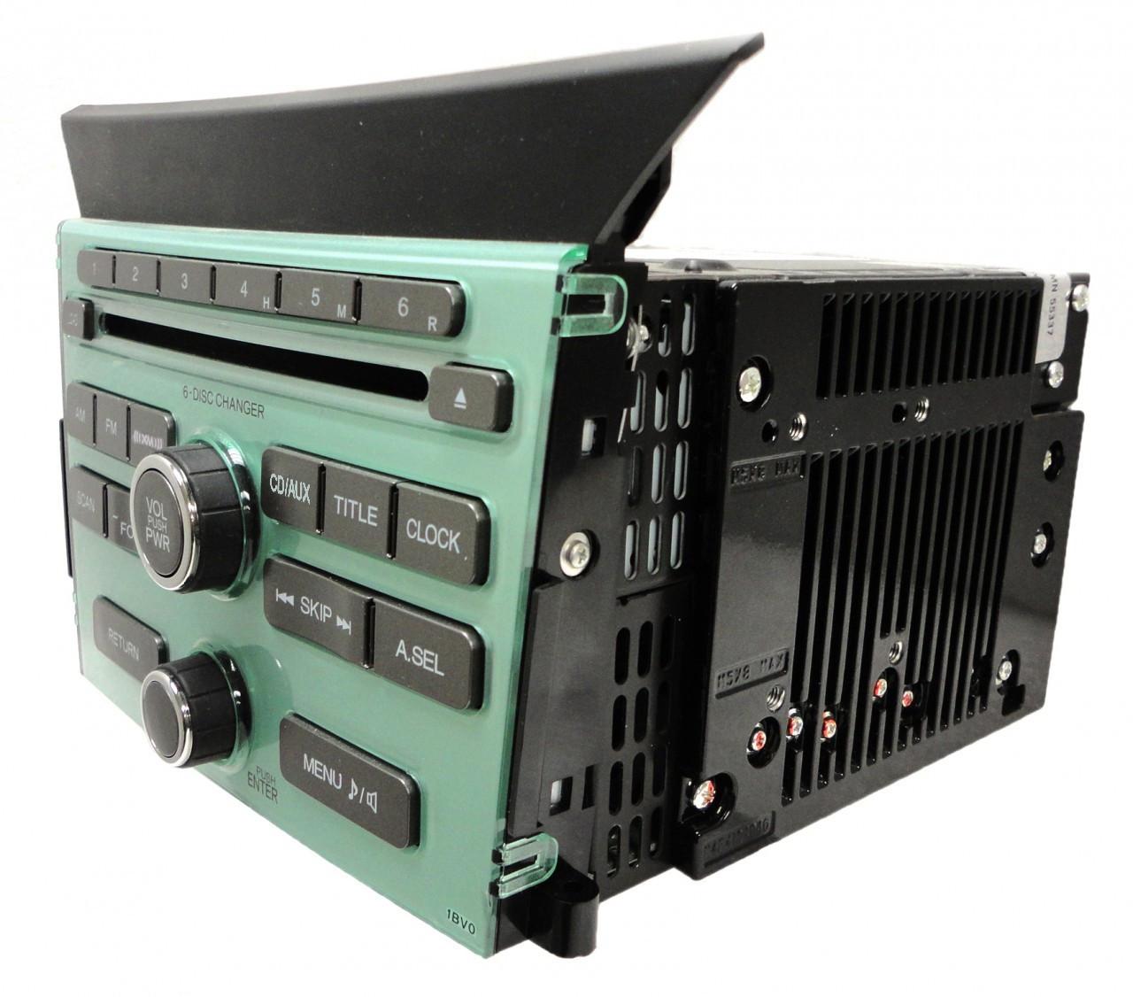 Honda Pilot Radio Stereo 6 Disc Changer Mp3 Cd Player 1bv0