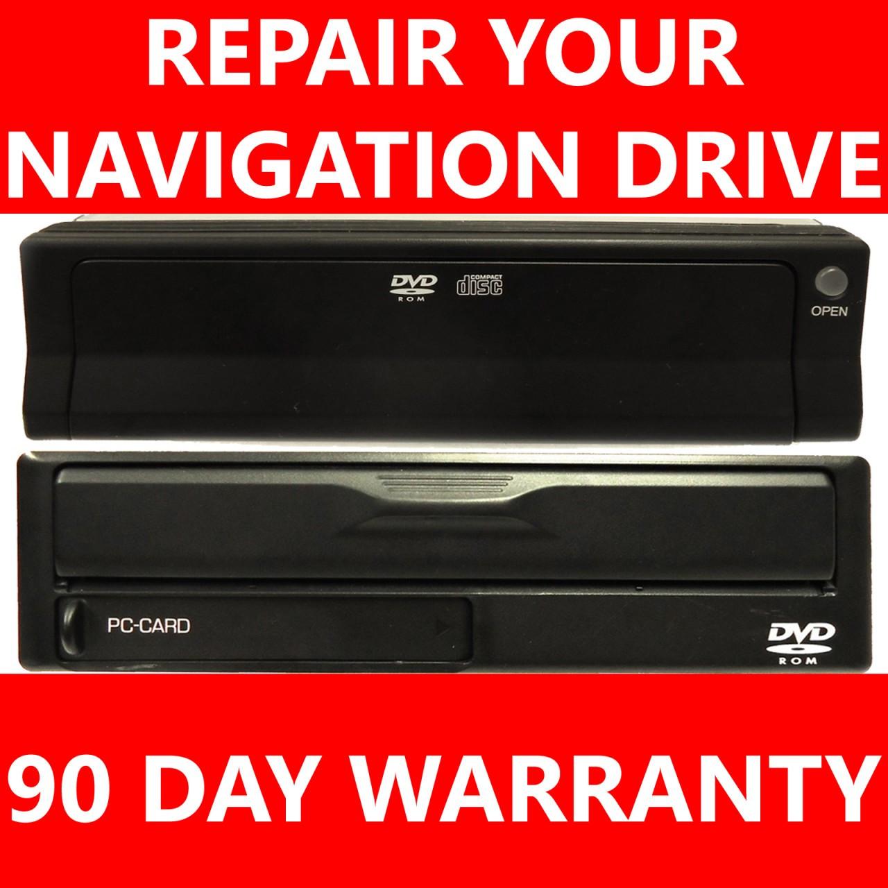Navigation DVD Rom Drive Repair TL RL MDX TSX 03 04 07 08