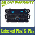 Unlocked Buick Radio CD Player AUX Stereo Receiver Blue OEM