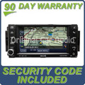 Jeep Dodge Chrysler MyGig Nav Satellite Radio CD DVD Player