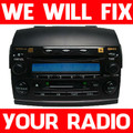 2004 2005 Toyota Sienna XLE JBL Radio Tape 6 Changer CD Player REPAIR FIX 86120-AE030 A56828