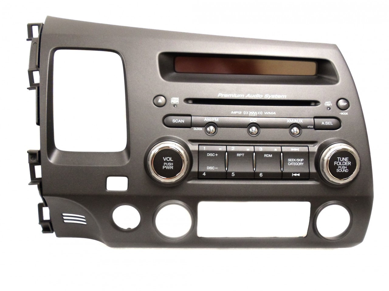 4tc0 2006 07 08 2011 honda civic radio stereo mp3 cd player. Black Bedroom Furniture Sets. Home Design Ideas