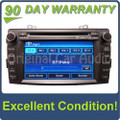 Hyundai navigation GPS satellite XM radio stereo MP3 CD player
