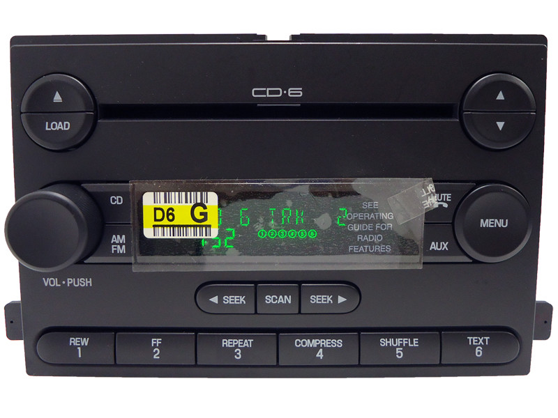gmc car stereo and cd player repair