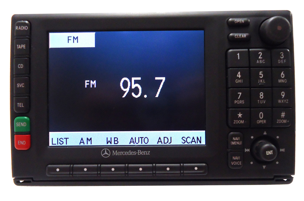 00 01 02 03 04 05 mercedes benz navigation ready radio for 2001 mercedes benz ml320 radio