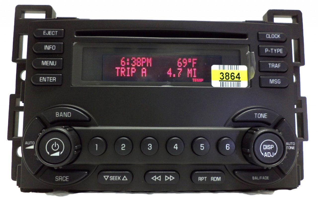 new 05 06 pontiac g6 am fm radio stereo cd player un0 22714806 15207904 oem ebay