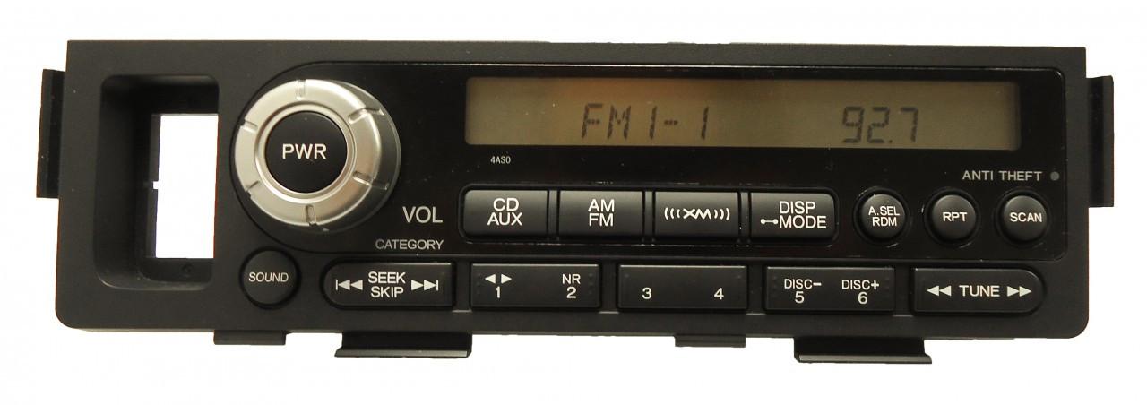 Image Result For Honda Ridgeline Radio Enter Code
