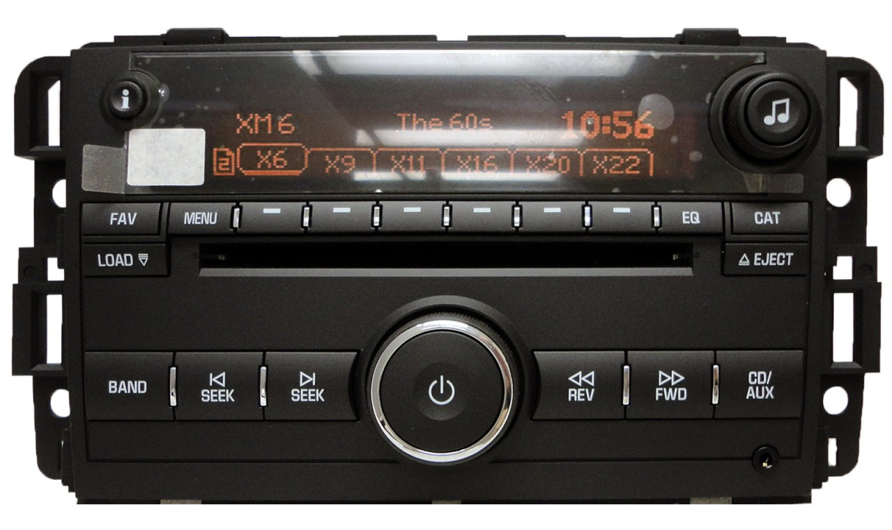 2007 chevy silverado xm radio activation autos post. Black Bedroom Furniture Sets. Home Design Ideas