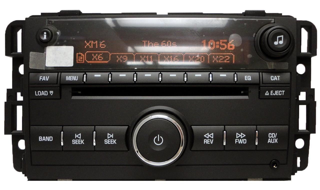 2007 Chevy Silverado Xm Radio Activation Autos Post