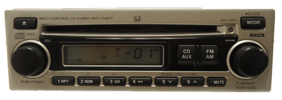 8xw0 1998 2002 honda s2000 civic radio mp3 aux cd player. Black Bedroom Furniture Sets. Home Design Ideas