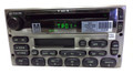 FORD MERCURY MAZDA Radio Tape CD Player New Face Silver 1998 1999 2000 2001 2002 2003 2004 2005