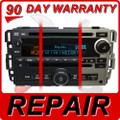 REPAIR 07 - 12 Chevy GMC Buick Pontiac Dual DVD CD Changer FIX