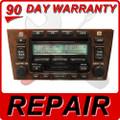 00 01 02 03 04 REPAIR FIX Toyota Avalon JBL Radio 6 Disc Changer CD Player Repair Service Fix JBL 2000 2001 2002 2003 2004