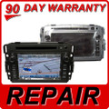 REPAIR Service 2007 2008 2009 2010 2011 2012 GMC OEM Sierra Chevy Equinox Navigation DVD Repair