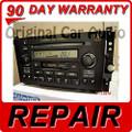 REPAIR Acura TL CL A210 M1 3TB0 Radio 6 Disc CD Player 2001 2002 2003