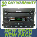 07 08 09 FORD MUSTANG SHAKER 500 Radio MP3 AUX and 6 CD Changer 2007 2008 2009 NEW MECH NEW FACE