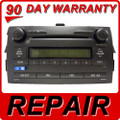 Repair Service Toyota corolla cd player radio fix 2009 2010 2011